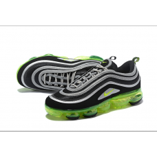 Cheap Nike Air Vapormax 97 Men Shoes Black White Green
