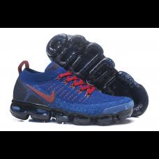Cheap Nike Air Vapormax Flyknit 2.0 Men Shoes Blue Red