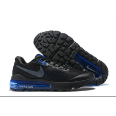 Cheap Nike Air Vapormax Flyknit Men Shoes Black Blue Outlet