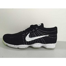 CHEAP NIKE AIR ZOOM FIT AGILITY FLYKNIT MEN RUNNING SHOES WHITE BLACK FOR SALE