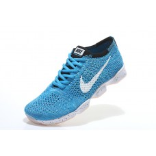 CHEAP NIKE AIR ZOOM FIT AGILITY FLYKNIT MEN RUNNING SHOES WHITE BLUE OUTLET