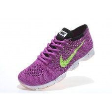 CHEAP NIKE AIR ZOOM FIT AGILITY FLYKNIT WOMEN RUNNING SHOES PURPLE FLUORESCENT GREEN OUTLET