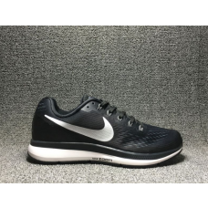 Cheap Nike Air Zoom Pegasus 34 Men Shoes Black White