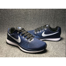 Cheap Nike Air Zoom Pegasus 34 Men Shoes Blue White