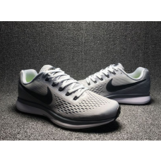 Cheap Nike Air Zoom Pegasus 34 Men Shoes Grey Outlet