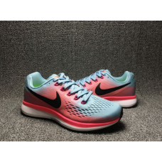 Cheap Nike Air Zoom Pegasus 34 Women Shoes Blue Pink