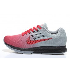 CHEAP NIKE AIR ZOOM STRUCTURE 18 MEN RUNNING SHOES RED GRAY OUTLET SALE