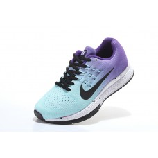CHEAP NIKE AIR ZOOM STRUCTURE 18 WOMEN RUNNING SHOES BLUE BLACK PURPLE FOR SALE