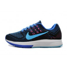 CHEAP NIKE AIR ZOOM STRUCTURE 18 WOMEN RUNNING SHOES ROYAL BLUE BLACK FOR SALE