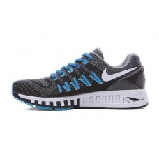 CHEAP NIKE AIR ZOOM STRUCTURE 20 MEN RUNNING SHOES BLACK BLUE FOR SALE