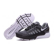 CHEAP NIKE AIR ZOOM STRUCTURE 20 MEN RUNNING SHOES BLACK GRAY OUTLET