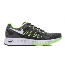 CHEAP NIKE AIR ZOOM STRUCTURE 20 MEN RUNNING SHOES BLACK GREEN OUTLET