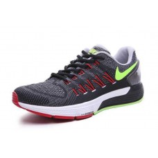 CHEAP NIKE AIR ZOOM STRUCTURE 20 MEN RUNNING SHOES BLACK RED FLUORESCENT GREEN SALE