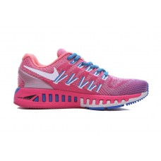 CHEAP NIKE AIR ZOOM STRUCTURE 20 WOMEN RUNNING SHOES BLUE PEACH FOR SLAE