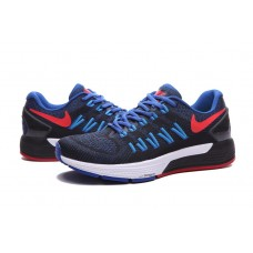 CHEAP NIKE AIR ZOOM STRUCTURE 20 MEN RUNNING SHOES ROYAL BLUE RED BLACK SALE