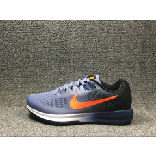 Cheap Nike Air Zoom Structure 21 Men Shoes Blue Orange