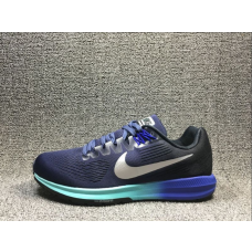 Cheap Nike Air Zoom Structure 21 Women Shoes Blue Outlet