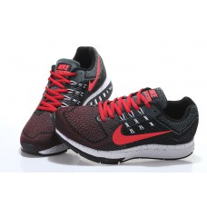 CHEAP NIKE AIR ZOOM STRUCTURE WOMEN RUNNING SHOES BLACK RED WHOLESALE