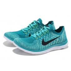 CHEAP NIKE FREE 3.0 FLYKNIT MEN RUNNING SHOES BLACK BLUE FOR SALE
