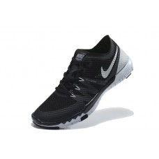 CHEAP NIKE FREE 3.0 V3 FLYWIRE MEN RUNNING SHOES BLACK SILVER FOR SALE