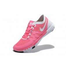 CHEAP NIKE FREE 3.0 V3 FLYWIRE WOMEN RUNNING SHOES PINK WHITE WHOLESALE