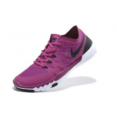 CHEAP NIKE FREE 3.0 V3 FLYWIRE WOMEN RUNNING SHOES BLACK PURPLE WHITE OUTLET SALE