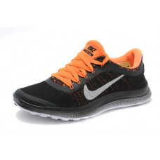 CHEAP NIKE FREE 3.0 V6 WOMEN RUNNING SHOES BLACK ORANGE FOR SALE