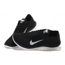 CHEAP NIKE FREE 4.0 FLYKNIT WOMEN RUNNING SHOES WHITE BLACK OUTLET SALE