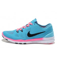 CHEAP NIKE FREE 5.0 V2 TRAINING WOMEN RUNNING SHOES BLUE BLACK PINK FOR SALE