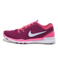 CHEAP NIKE FREE 5.0 V2 TRAINING WOMEN RUNNING SHOES PINK PURPLE WHITE FOR SALE