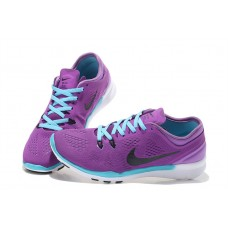 CHEAP NIKE FREE 5.0 V2 TRAINING WOMEN RUNNING SHOES PPURPLE BLUE OUTLET
