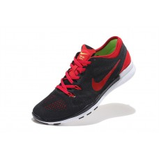 CHEAP NIKE FREE 5.O V2 TRAINING MEN RUNNING SHOES BLACK RED WHOLESALE