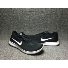 Cheap Nike Free Run Flyknit 2017 Women Shoes Black