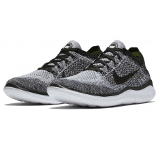 Cheap Nike Free Run Flyknit 2018 Women Shoes Black Grey