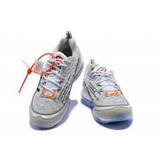 Cheap Nike Off White Men Shoes Grey White Blue