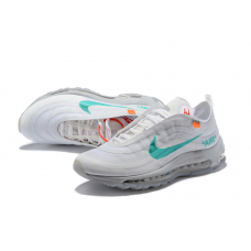 Cheap Nike Off White Women Shoes White Green
