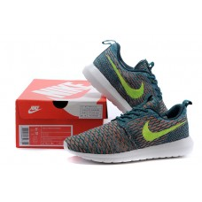 CHEAP NIKE ROSHE RUN MEN RUNNING SHOE DRACOCEPHALUM FLUORESCENT GREEN SALE