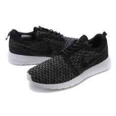 CHEAP NIKE ROSHE RUN MEN RUNNING SHOES BLACK WHITE OUTLET SALE