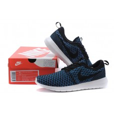 CHEAP NIKE ROSHE RUN MEN RUNNING SHOES ROYAL BLUE BLACK WHOLESALE