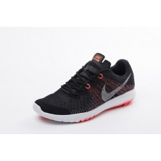 CHEAP NIKE FLEX SERIES WOMEN RUNNING SHOES BLACK ORANGE WHOLESALE