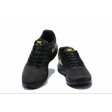 Cheap Nike Run Swift Men Shoes Black Gold