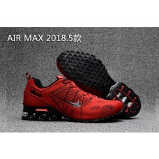 Clearance Sale Nike Air Max 2018 Men Shoes Red Black