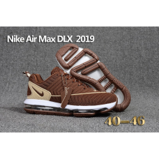 Clearance Sale Nike Air Max DLX 2019 Men Shoes Brown
