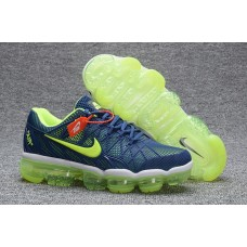 Discount Nike Air Max 2018 Men Shoes Green Blue