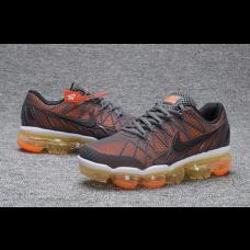 Discount Nike Air Max 2018 Women Shoes Orange Gray