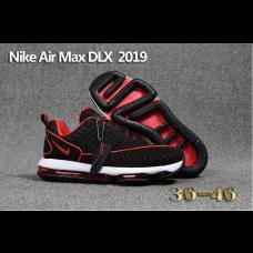 Discount Nike Air Max DLX 2019 Men Shoes Black White Red