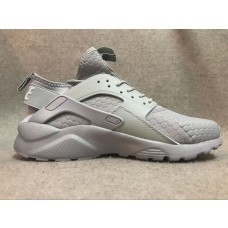 KNOCK OFF NIKE AIR HUARACHE IV 4 WOMEN RUNNING SHOES SILVER