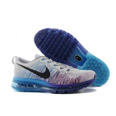 NIKE AIR MAX 2014 MEN RUNNING SHOES GRAY PURPLE BRIGHT BLUE WHOLESALE