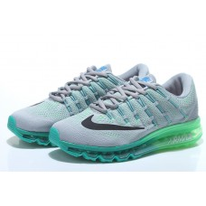 NIKE AIR MAX 2016 MEN RUNNING SHOES GRAY GREEN WHOLESALE