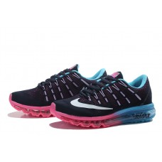 NIKE AIR MAX 2016 WOMEN RUNNING SHOES PINK BLACK BLUE WHOLESALE